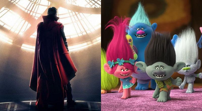 Trolls Doctor Strange Box Office USA