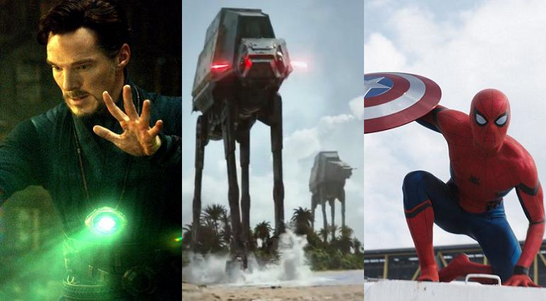 Beste visuelle Effekte 2016 Oscar