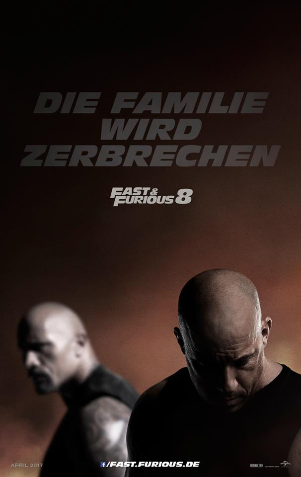 Fast and Furious 8 Trailer & Poster