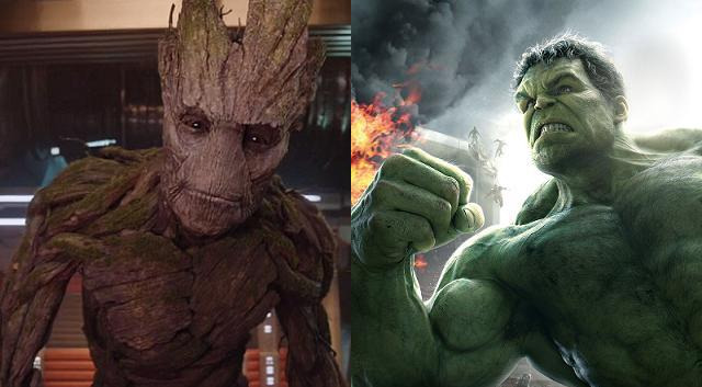 Groot vs Hulk