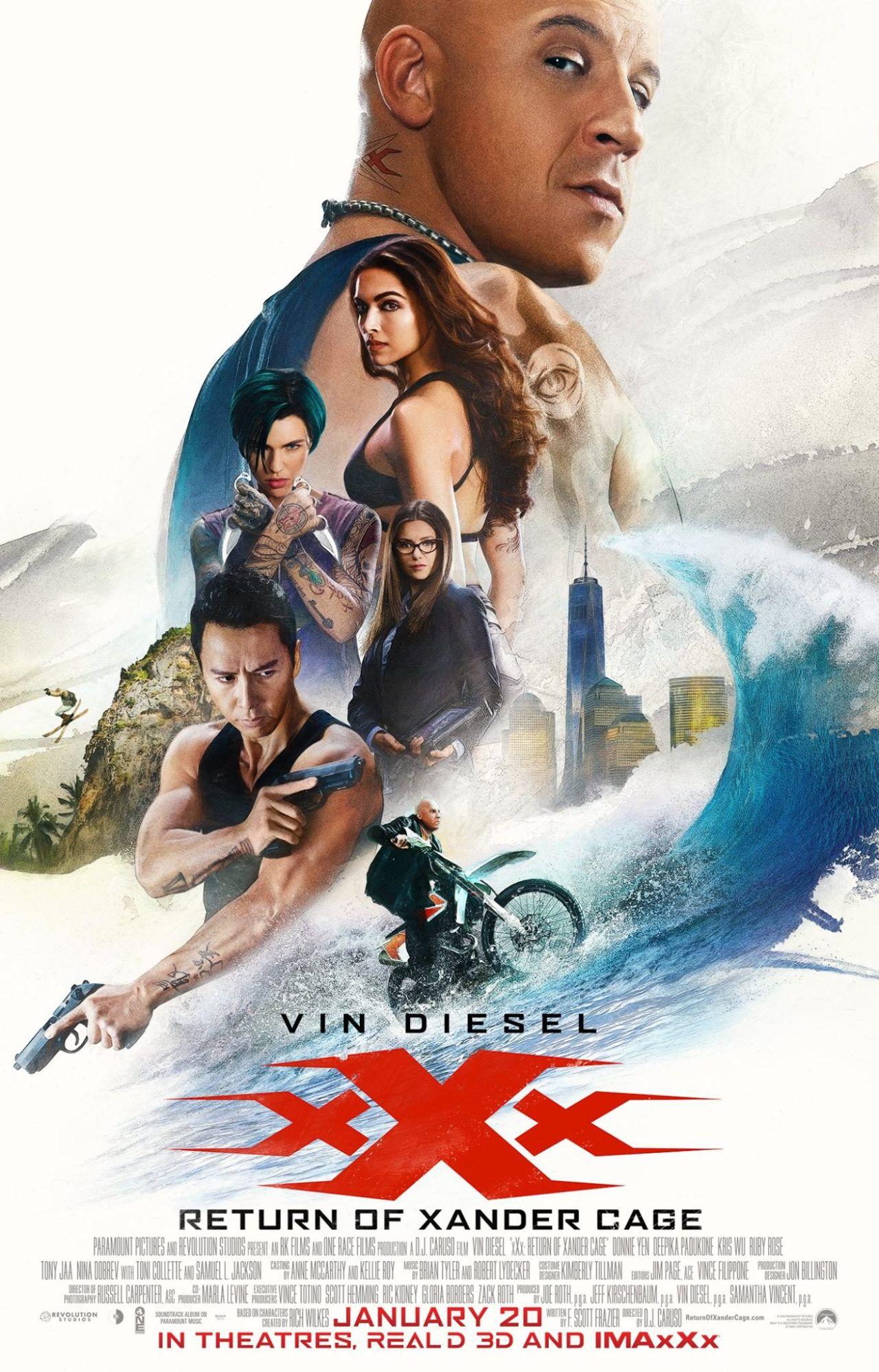 xXx Die Rückkehr des Xander Cage Vorschau Plakat 2
