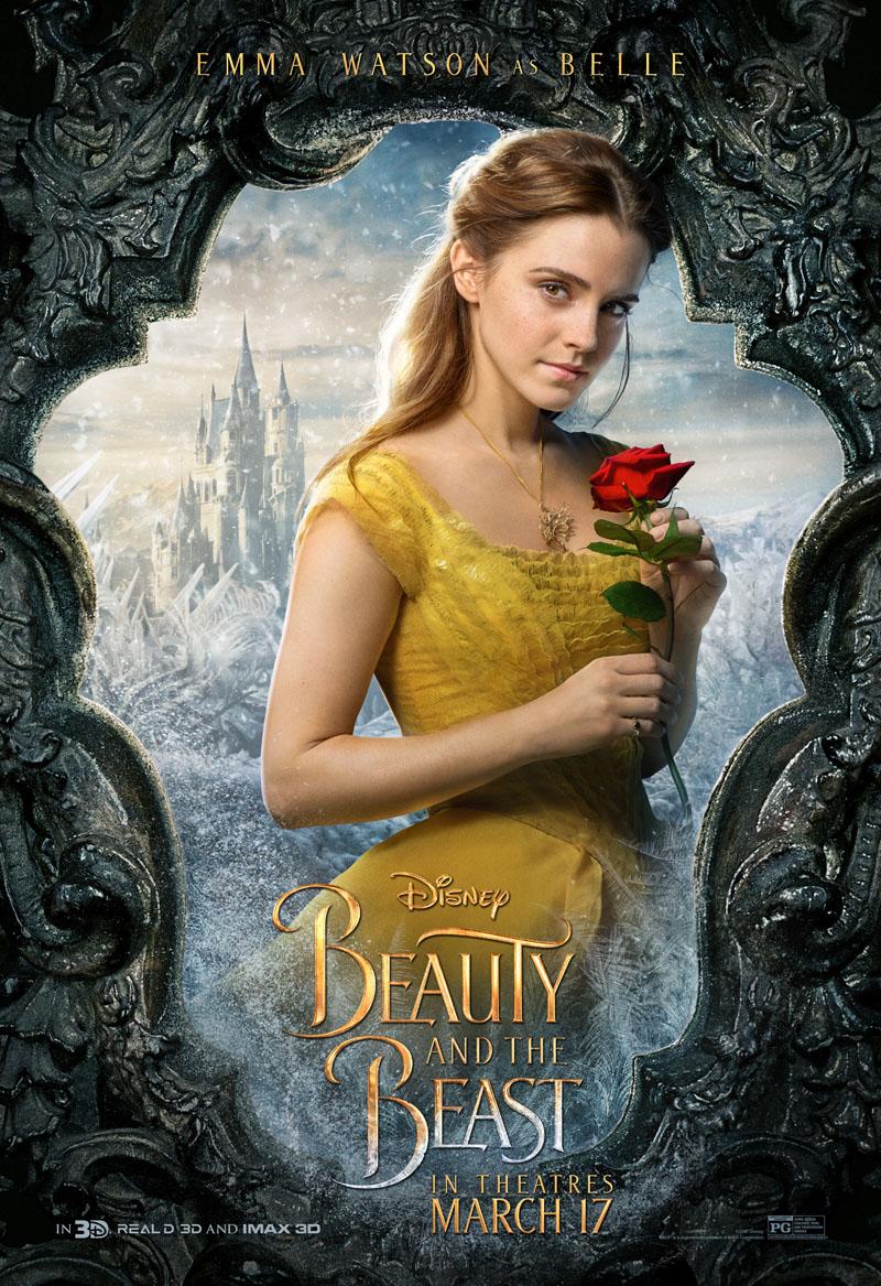 Die Schöne und das Biest Trailer & Charakterposter 1