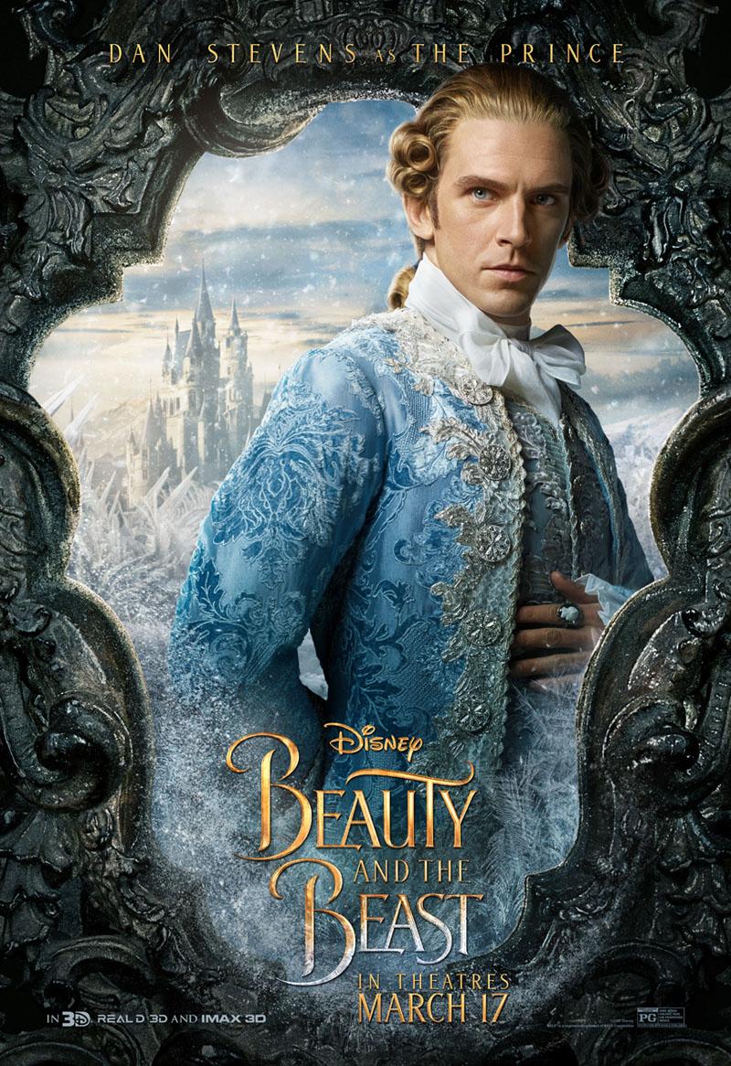 Die Schöne und das Biest Trailer & Charakterposter 2