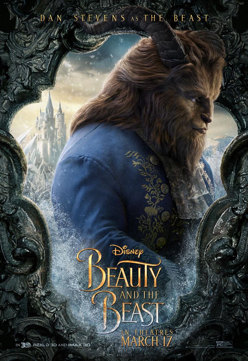 Die Schöne und das Biest Trailer & Charakterposter 12