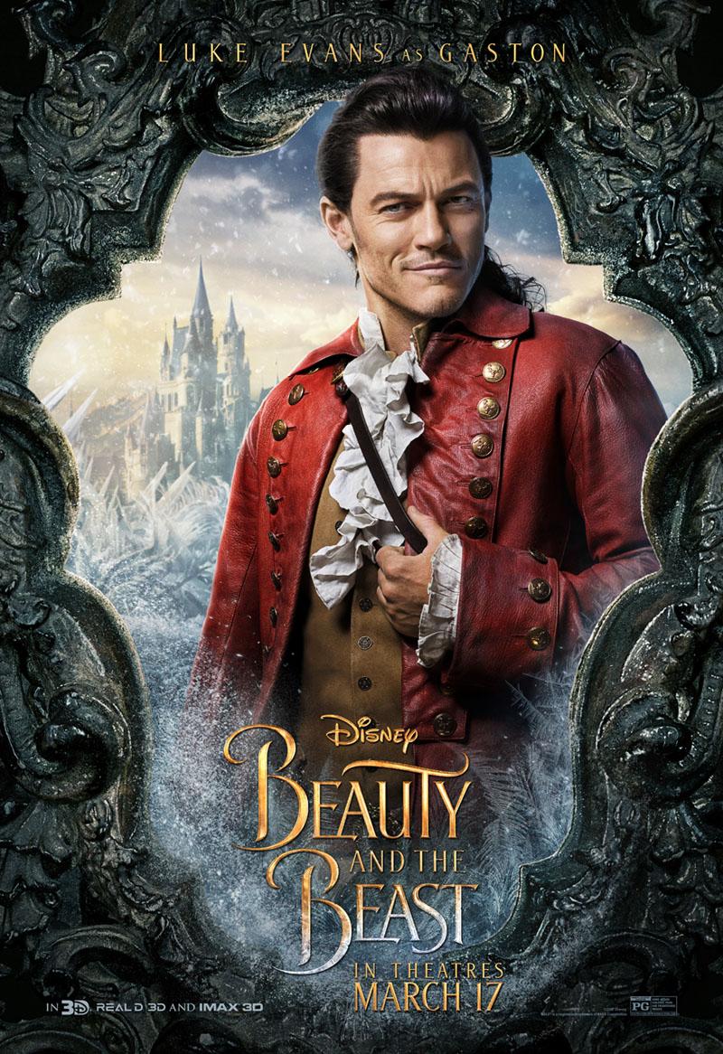Die Schöne und das Biest Trailer & Charakterposter 11