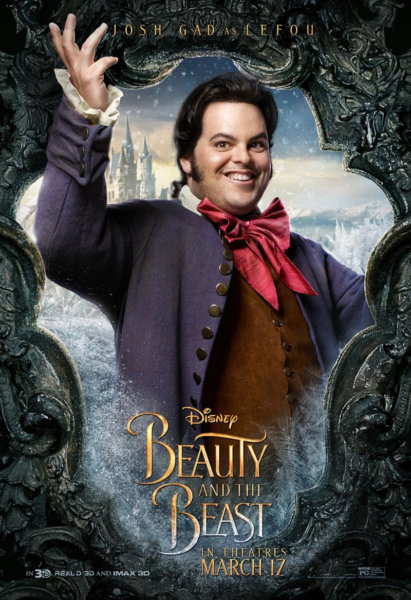 Die Schöne und das Biest Trailer & Charakterposter 9