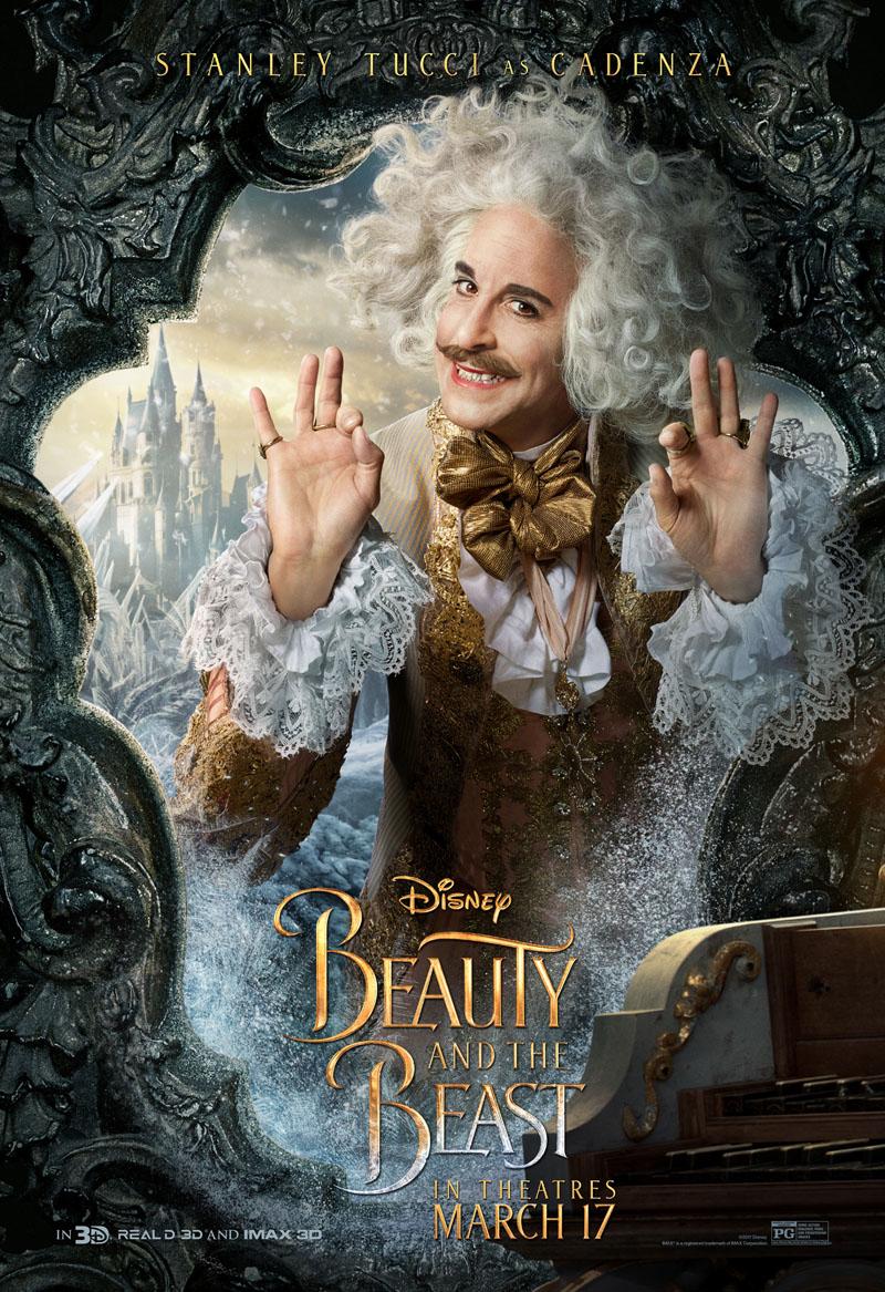 Die Schöne und das Biest Trailer & Charakterposter 7
