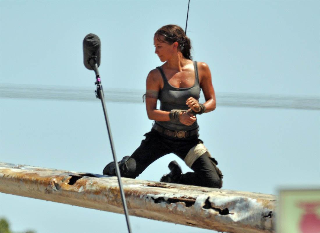 Alicia Vikander Lara Croft Bild 2