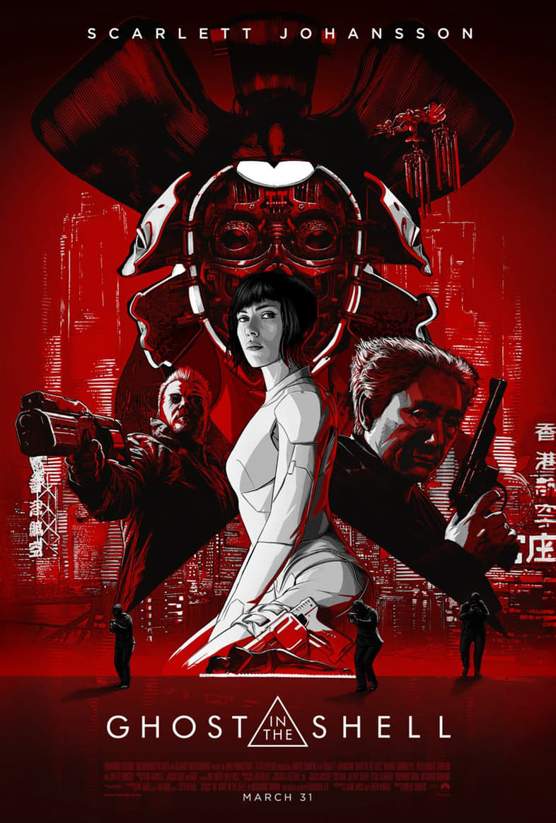 Ghost in ther Shell Super Bowl Spot & Plakat