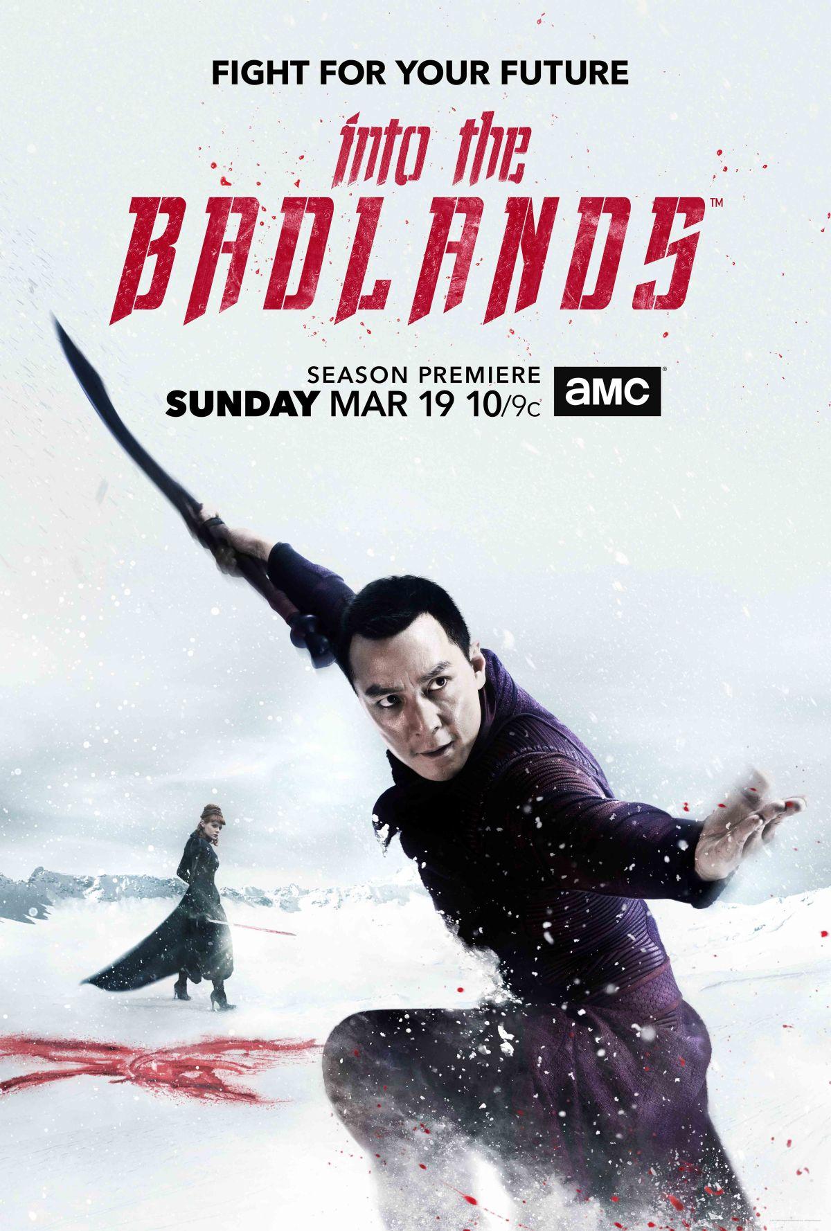 Into the Badlands Staffel 2 Start & Poster
