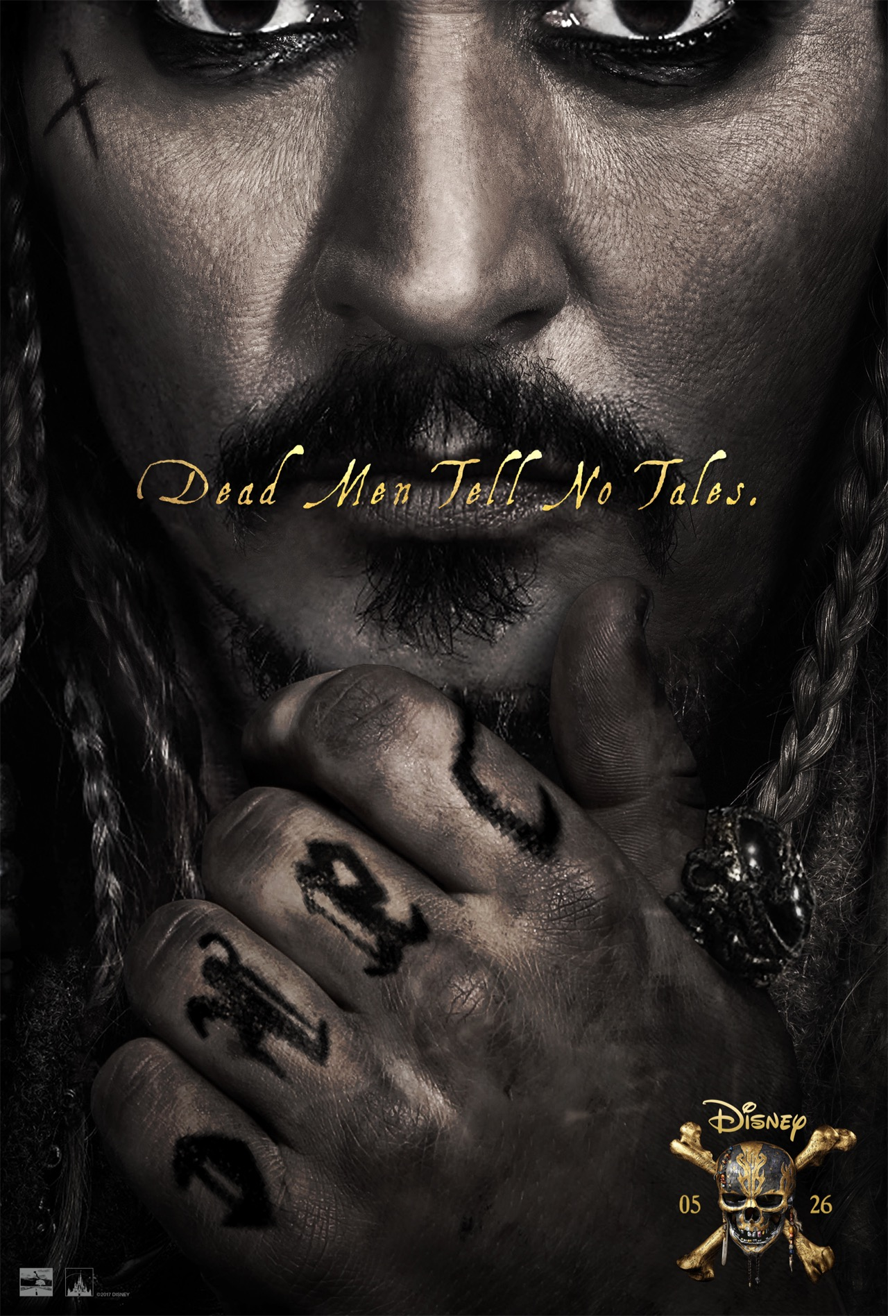 Pirates of the Caribbean Salazars Rache Super Bowl Spot & Poster