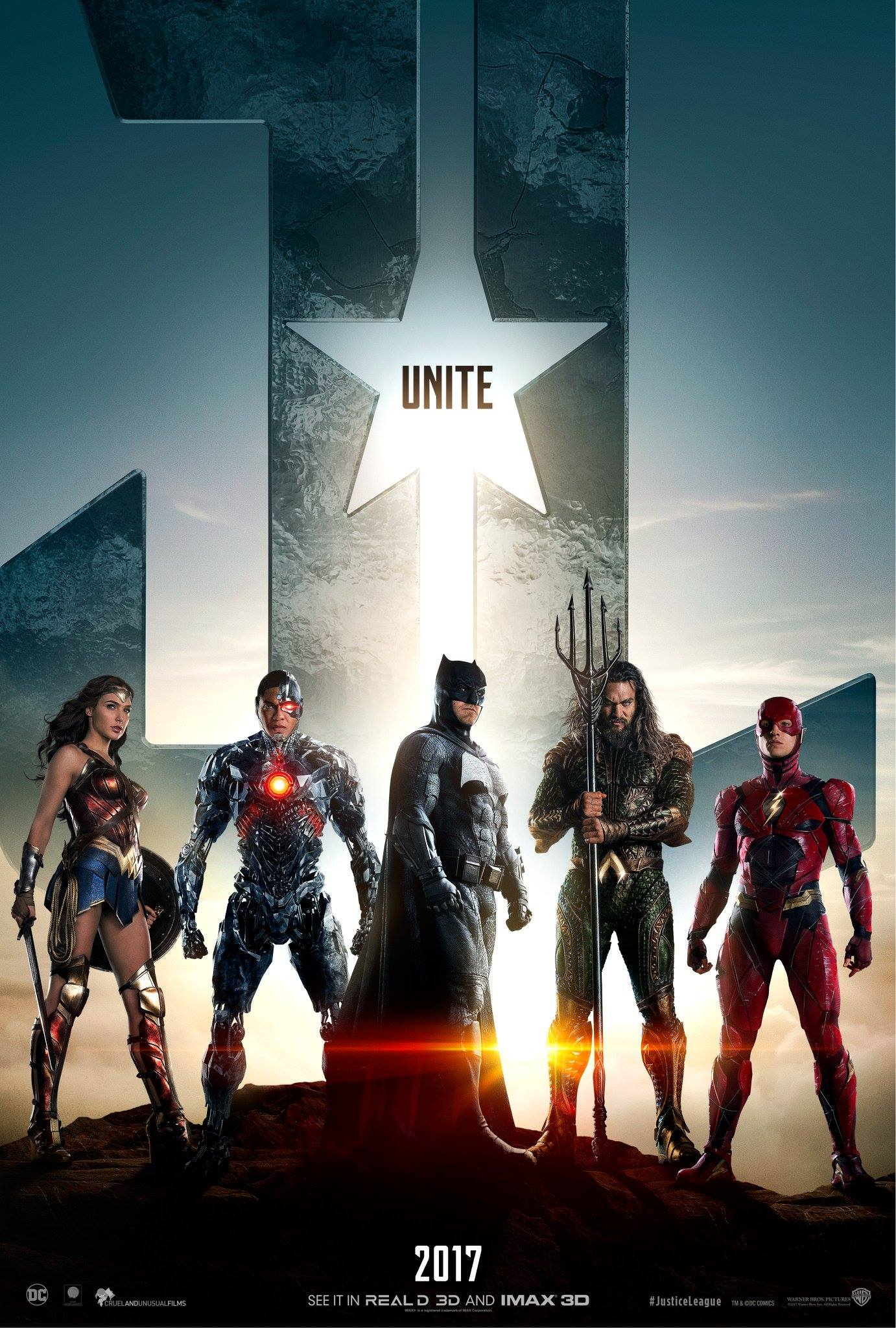 Justice League Trailer & Poster