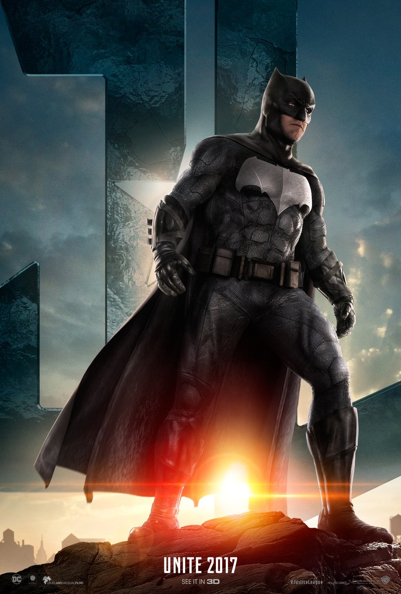 Justice League Trailer Batman Poster