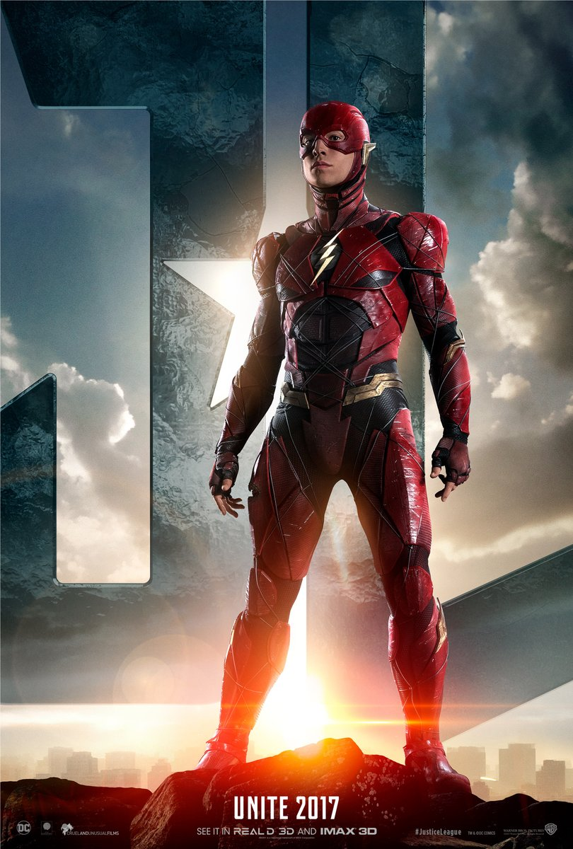 Justice League Trailer The Flash Poster