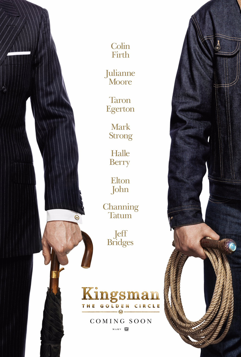 Kingsman The Golden Circle Poster 1
