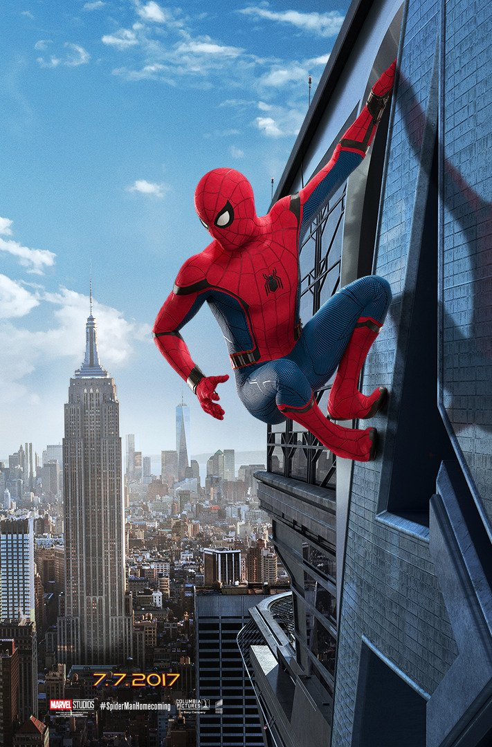Spider Man Homecoming Trailer Poster 1
