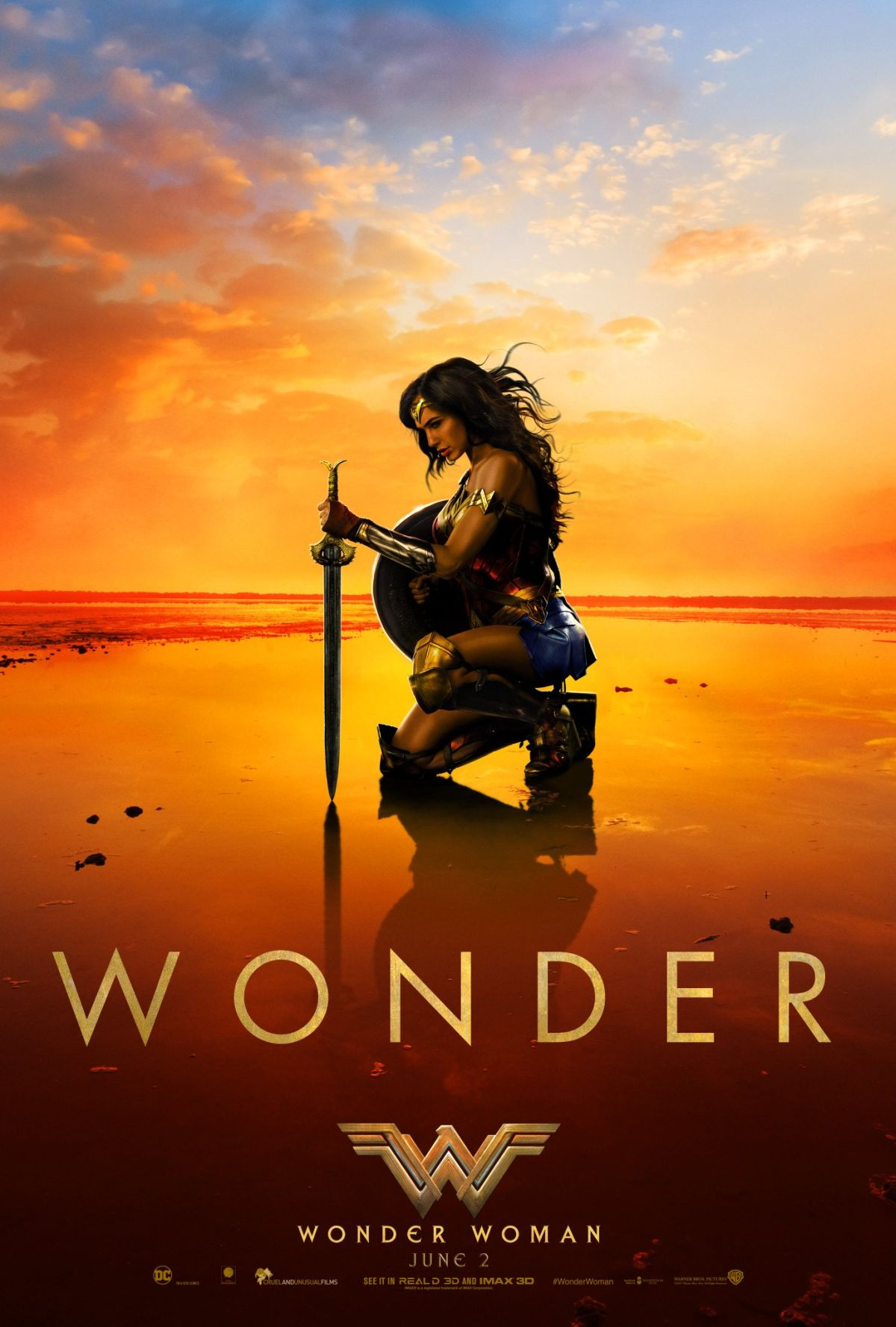 Wonder Woman finaler Trailer & Poster