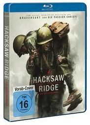 Hacksaw Ridge - Die Entscheidung (2016) Blu-ray Cover
