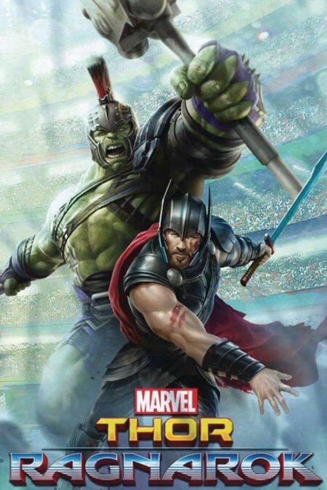 Thor 3 Ragnarok Foto Promo Art 1
