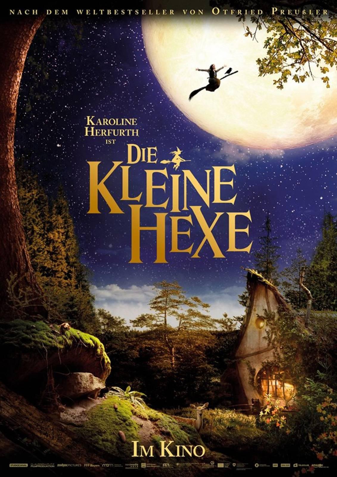 Die kleine Hexe Teaser Poster
