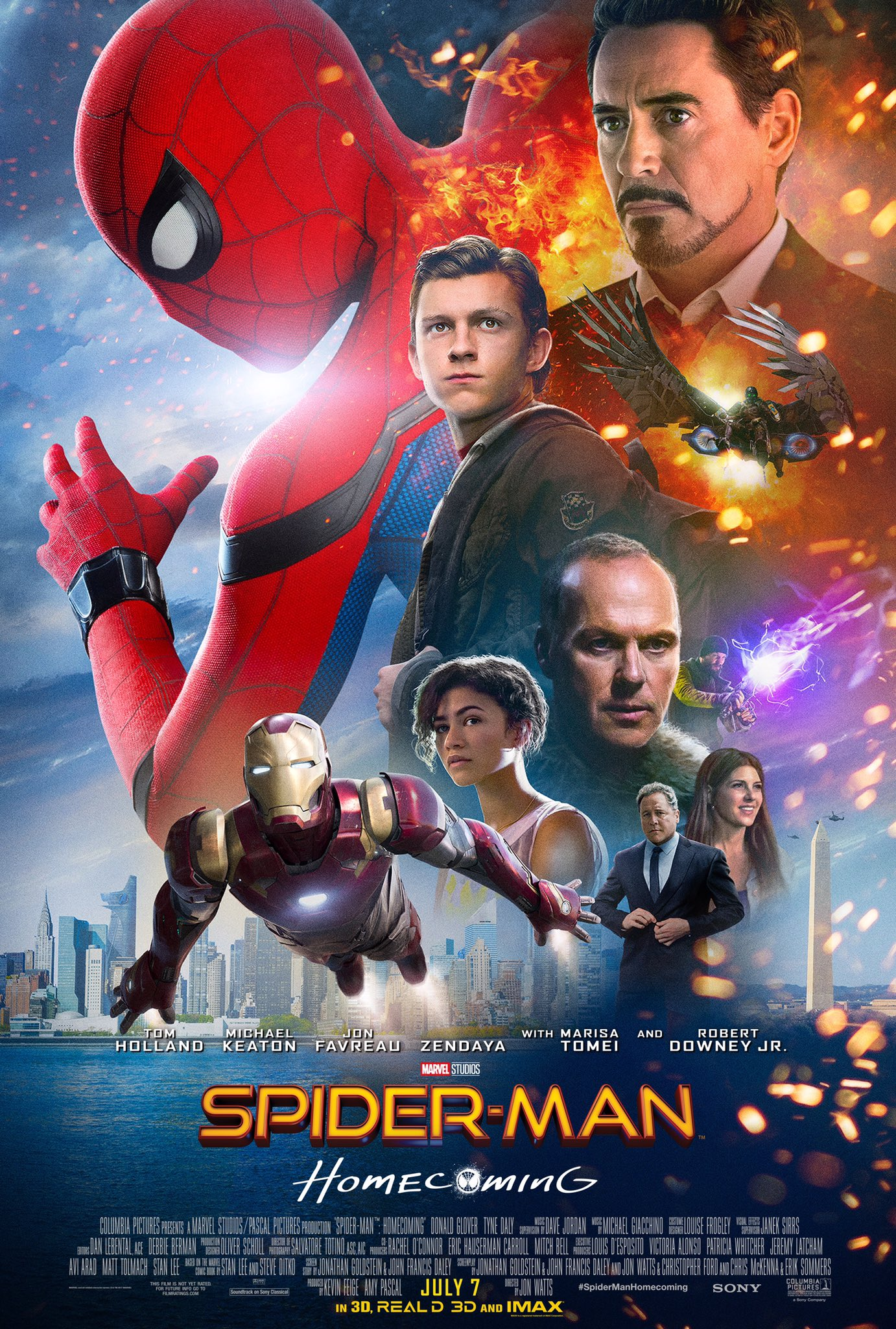 Spider Man Homecoming finaler Trailer & Poster 5