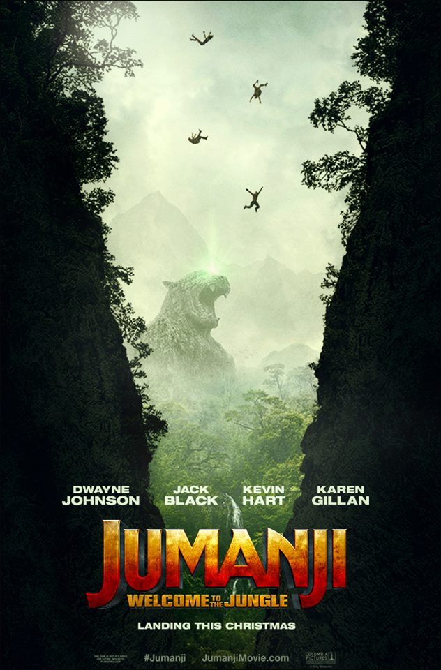 Jumanji Willkommen im Dschungel Trailer & Poster