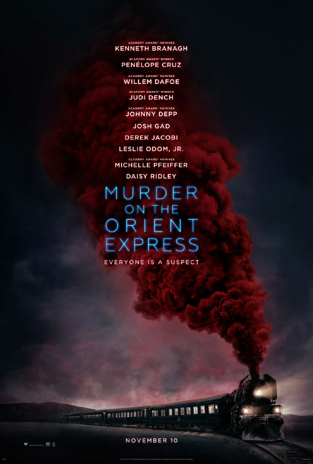 Mord im Orient Express Trailer & Poster