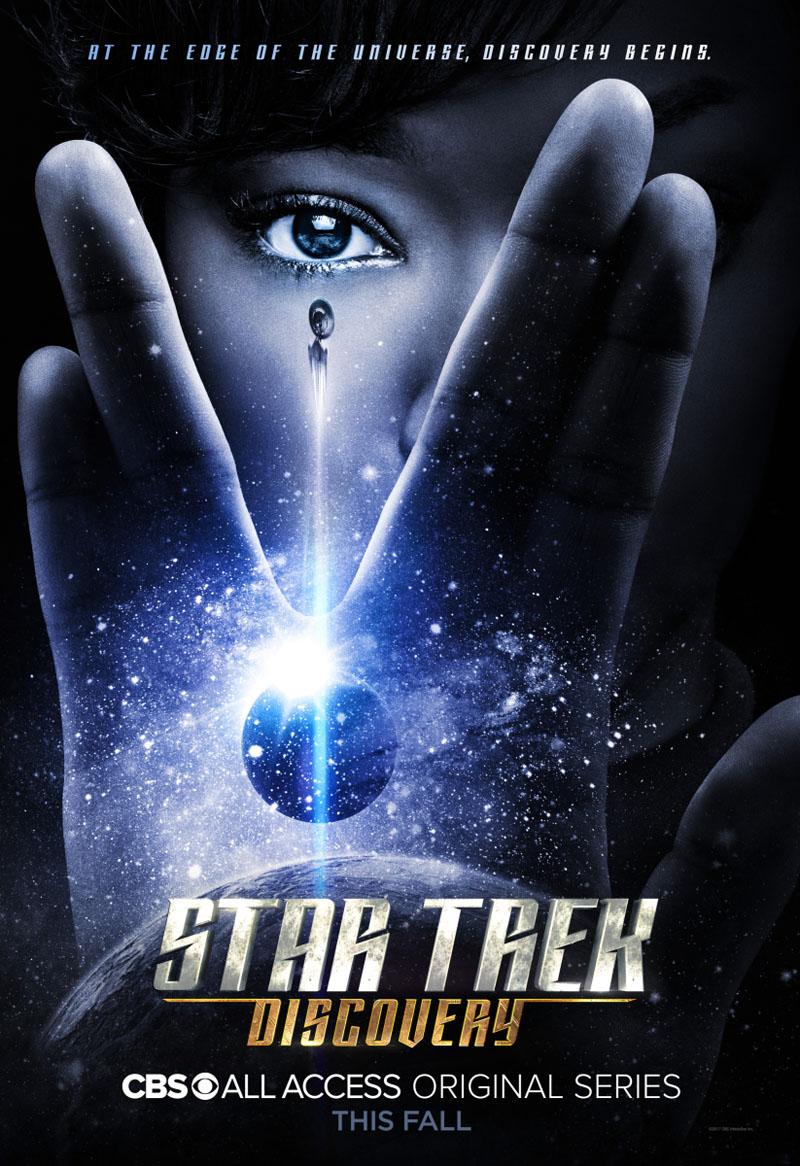 Star Trek Discovery Jonathan Frakes Poster 1