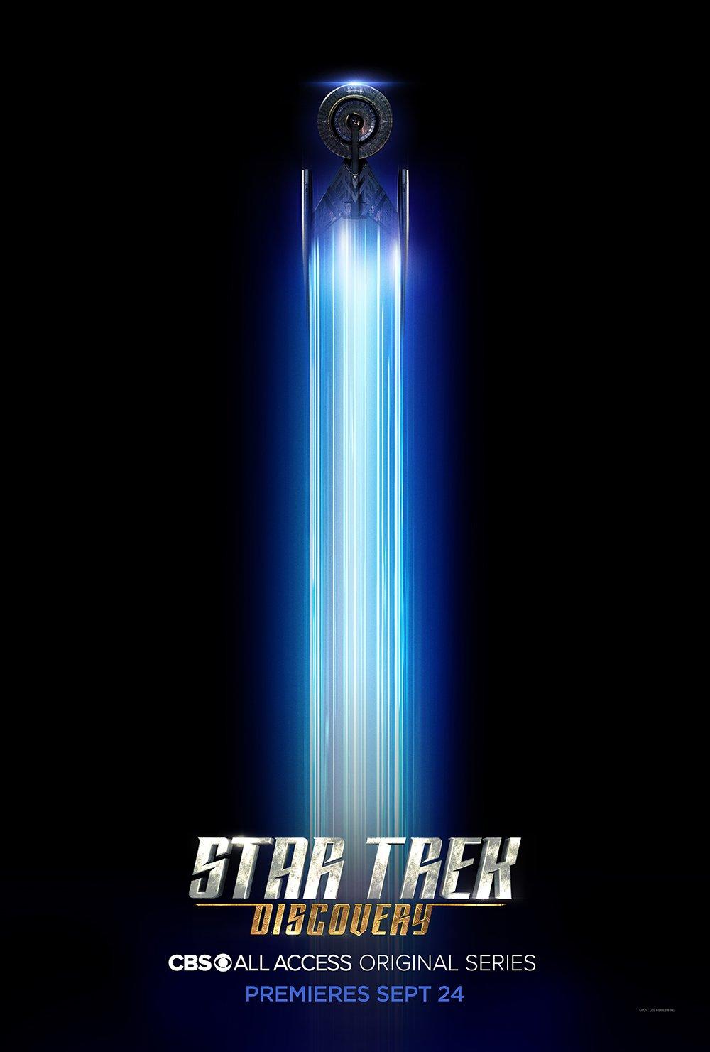 Star Trek Discovery Jonathan Frakes Poster 2