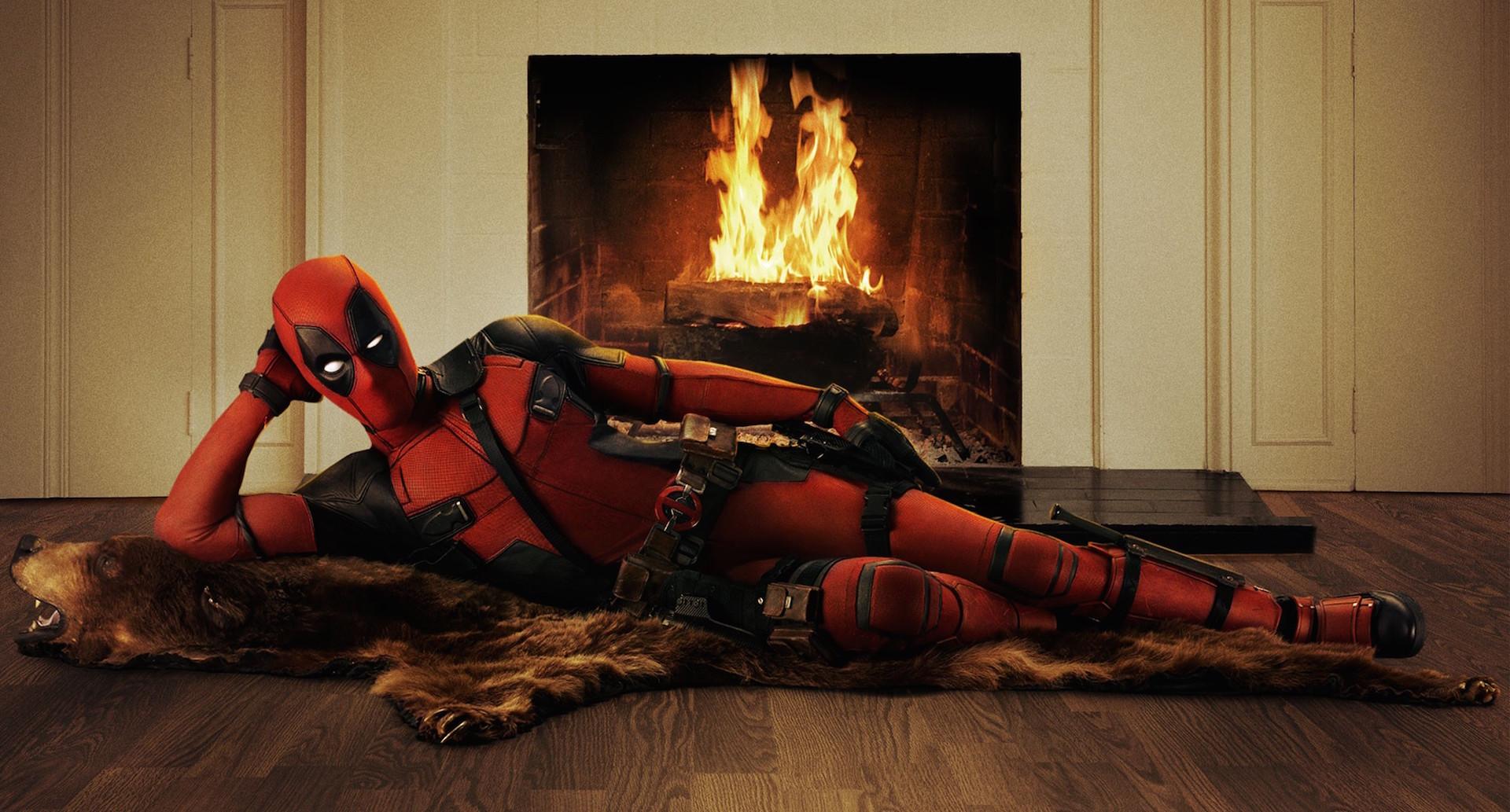 Deadpool 2 Domino Kamin Foto