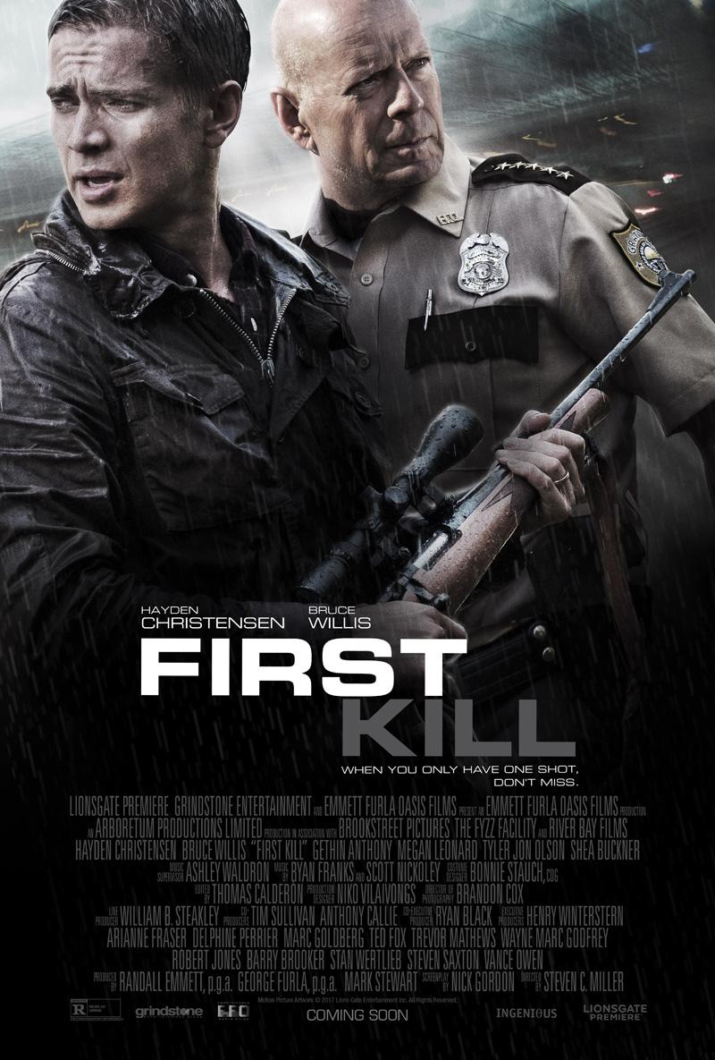First Kill Trailer Bruce Willis Poster