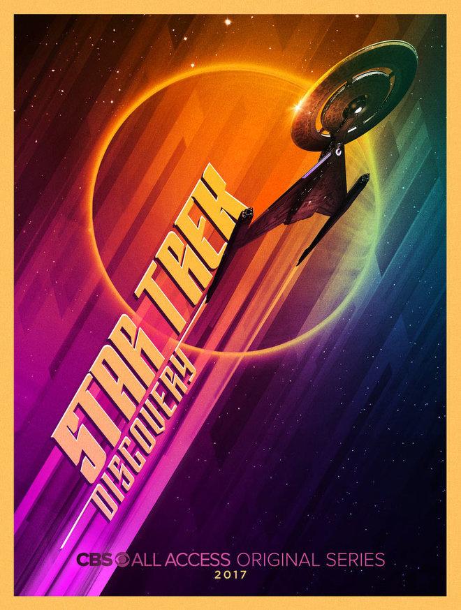Star Trek Serie Bryan Fuller Comic-Con Poster 2
