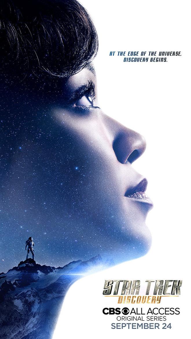 Star Trek Serie Bryan Fuller Comic-Con Poster 3