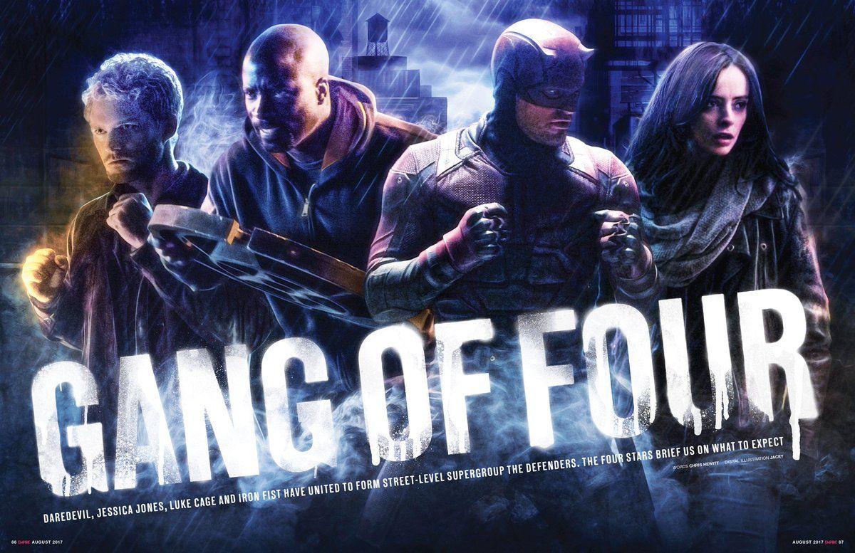 Marvels The Defenders Trailer Art