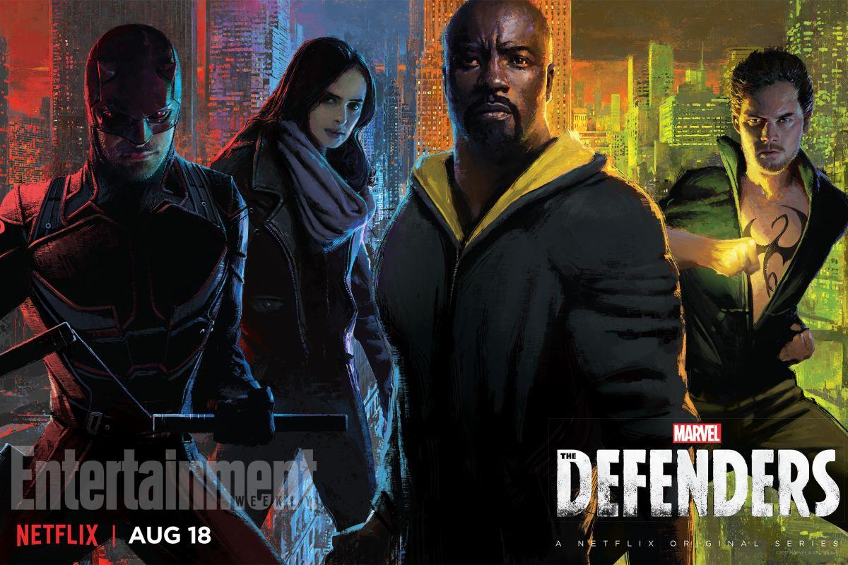 Marvels The Defenders Trailer & Poster 1