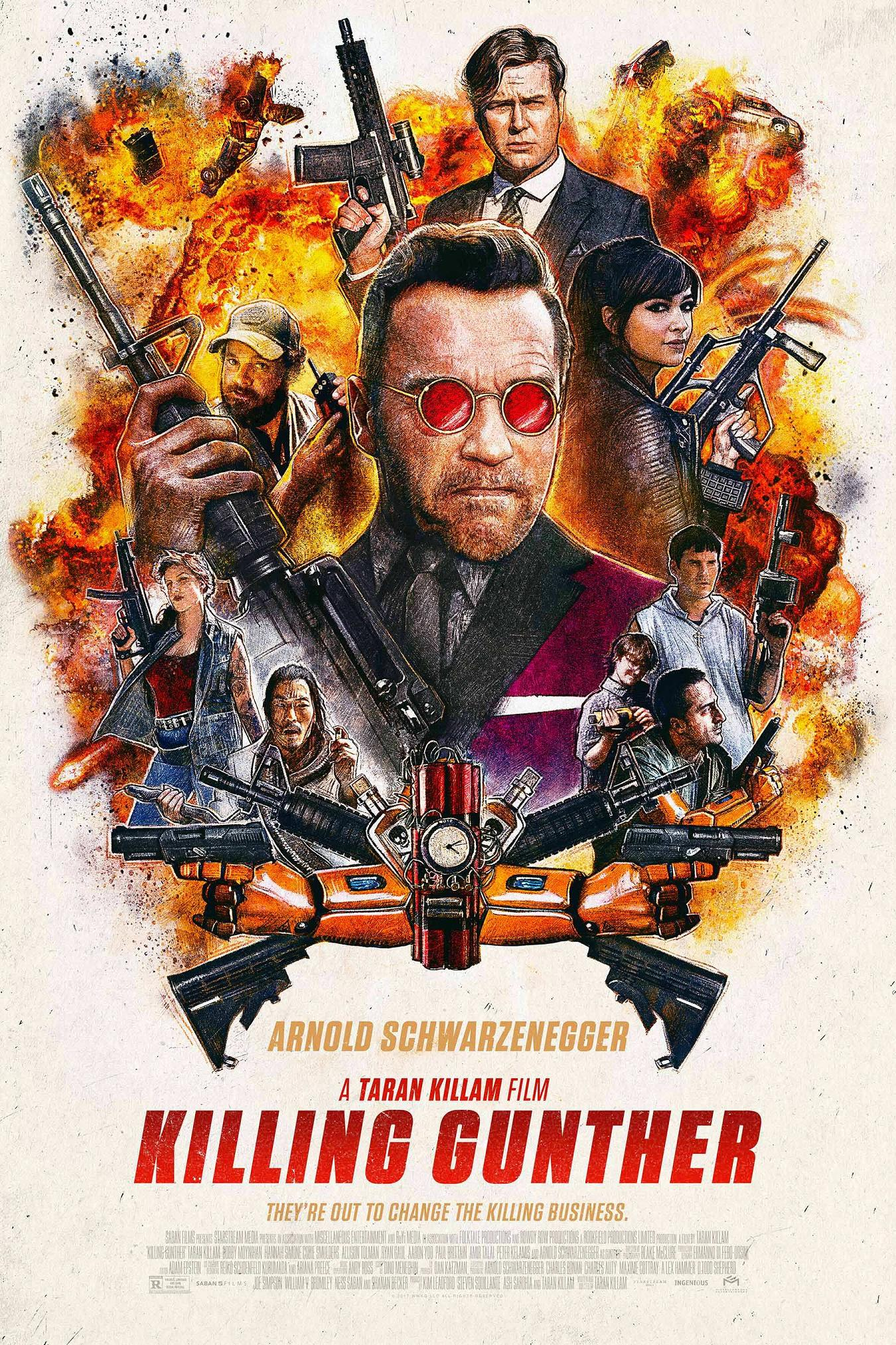 Killing Gunther Trailer & Poster