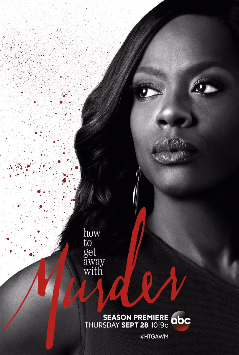 How to Get Away with Murder Staffel 4 Promo Poster
