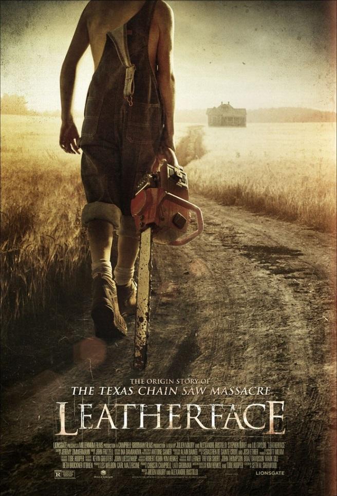 Leatherface ungeschnitten Deutschland Poster