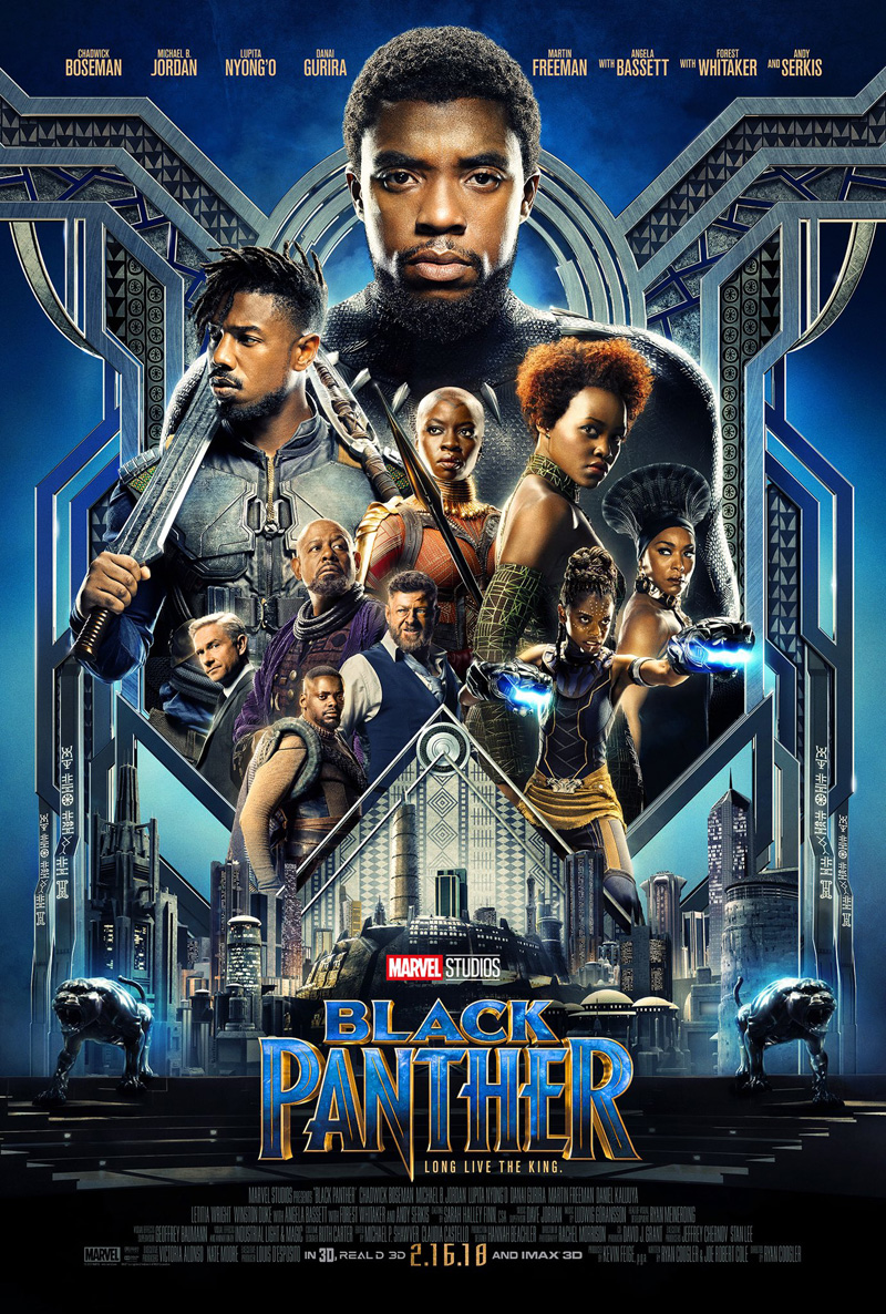 Black Panther Trailer & Poster