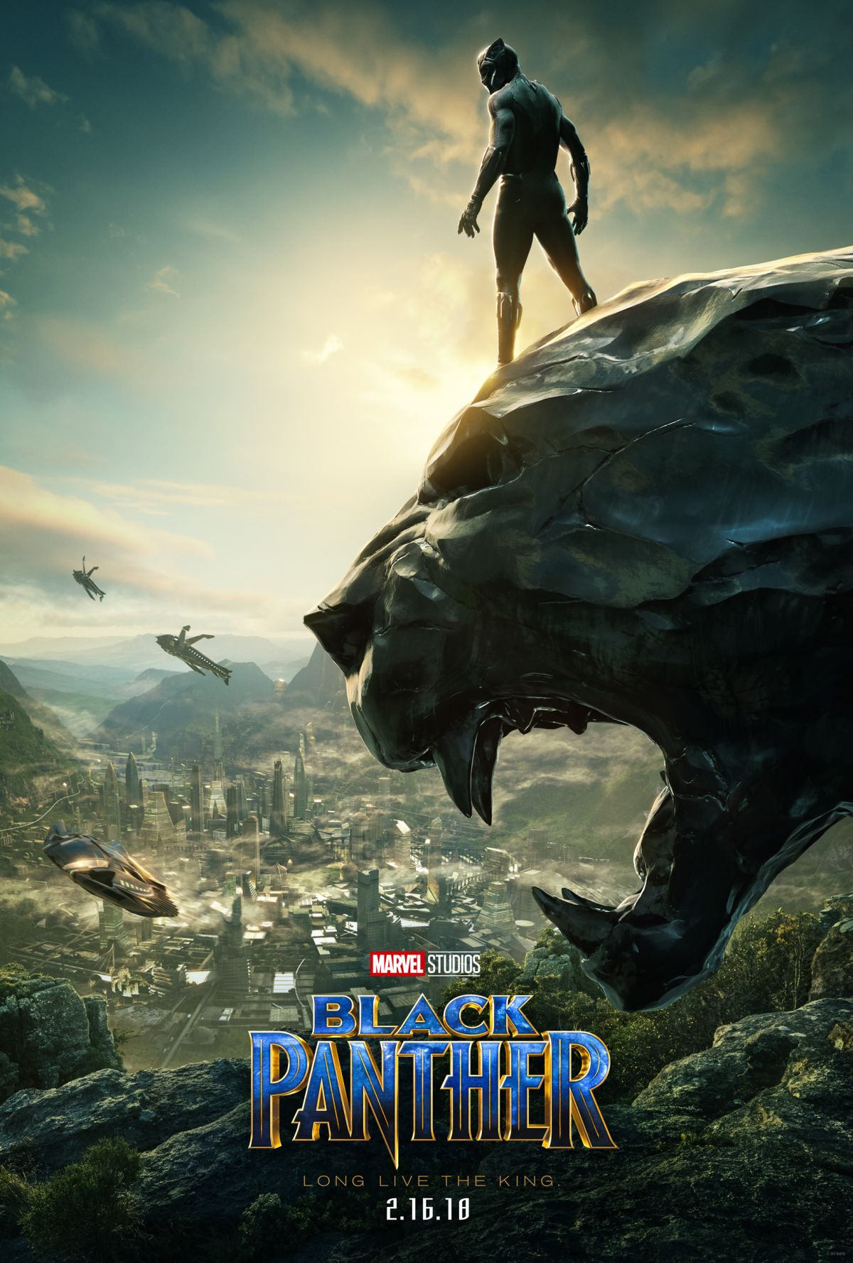 Black Panther Trailer & Poster 2