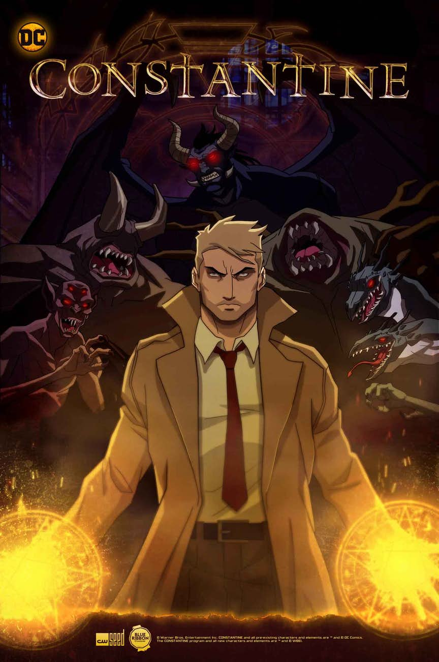 Constantine Animationsserie Plakat