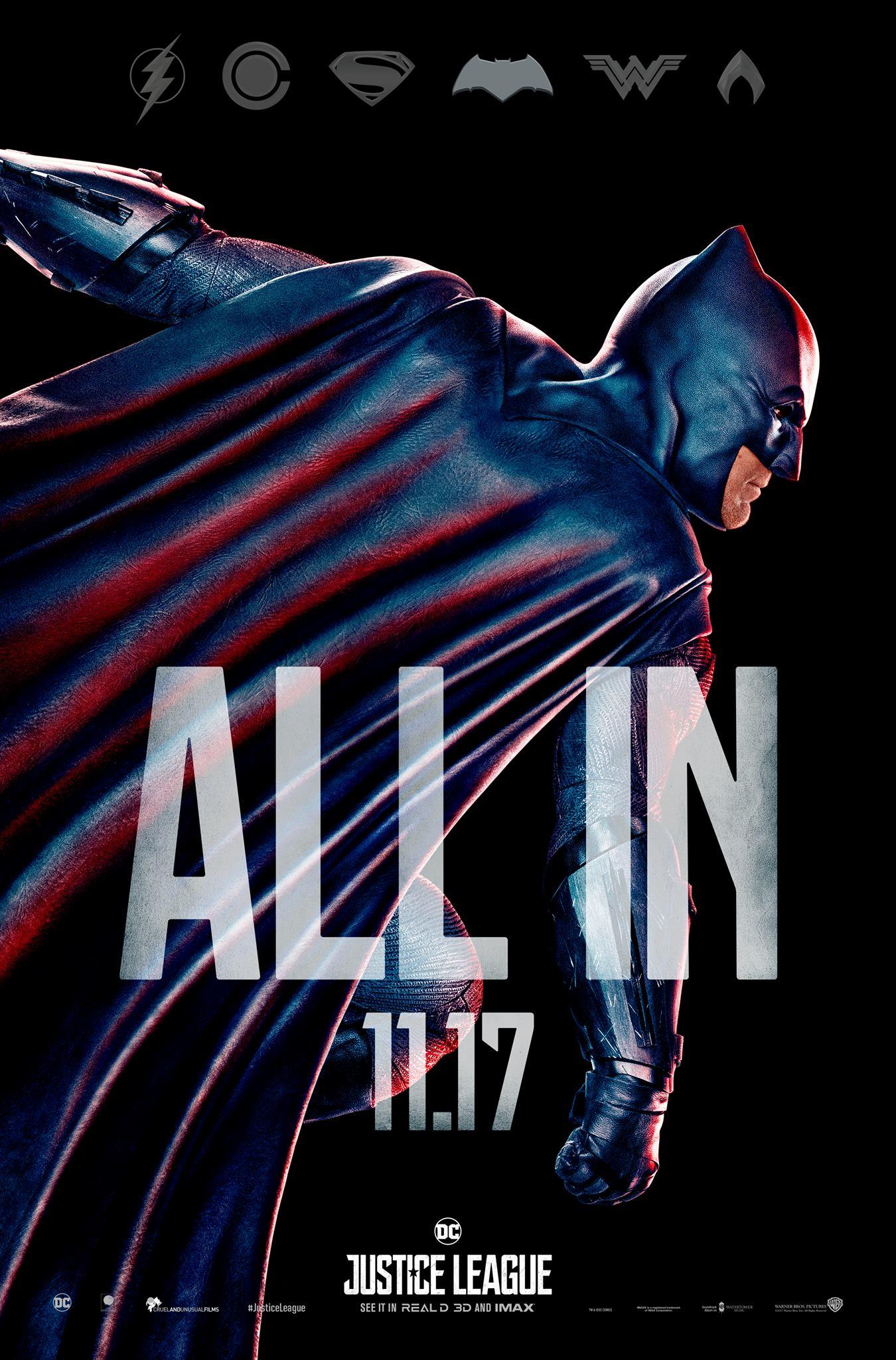 Justice League finaler Trailer & Charakterposter 5