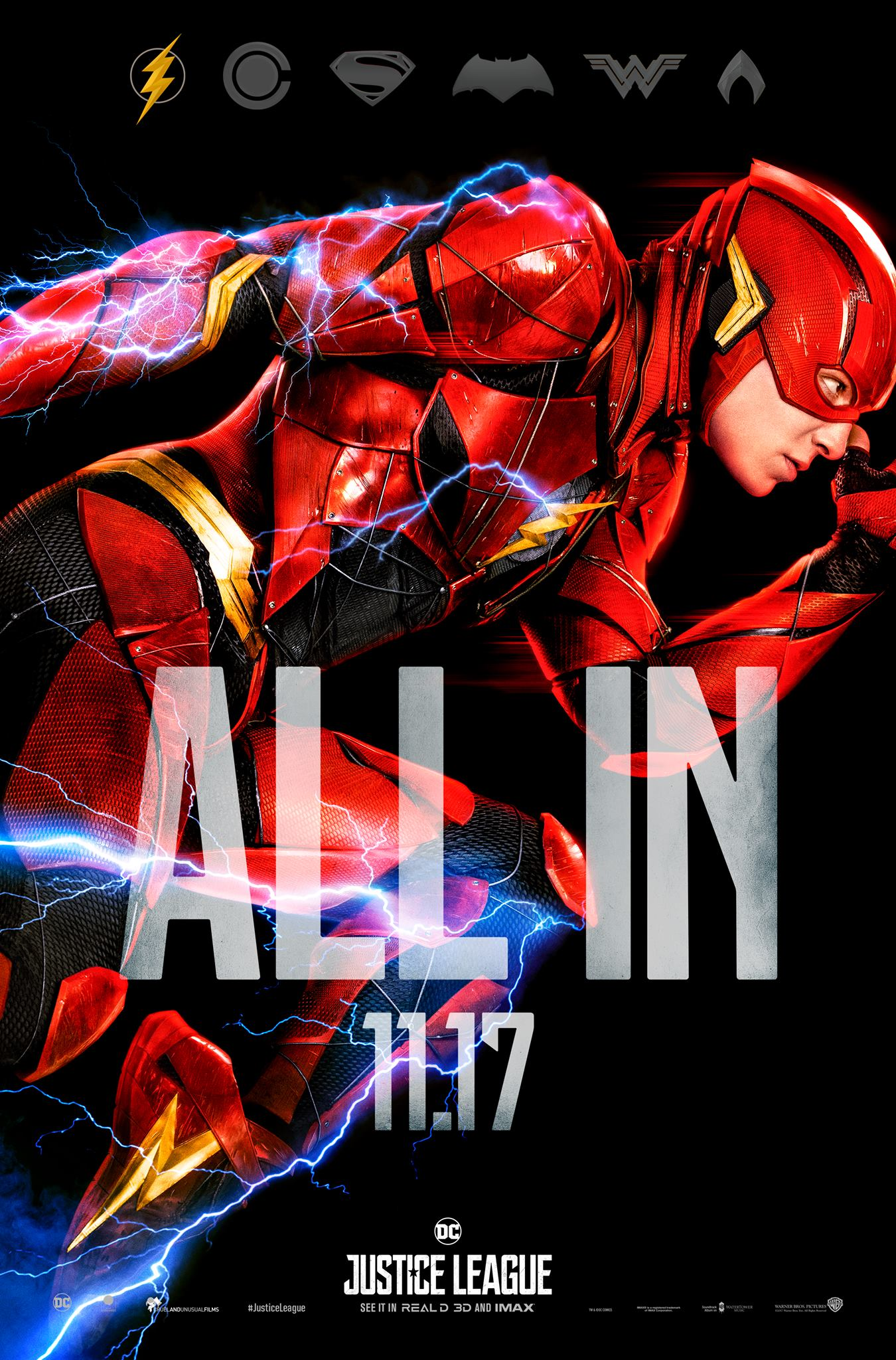 Justice League finaler Trailer & Charakterposter 2