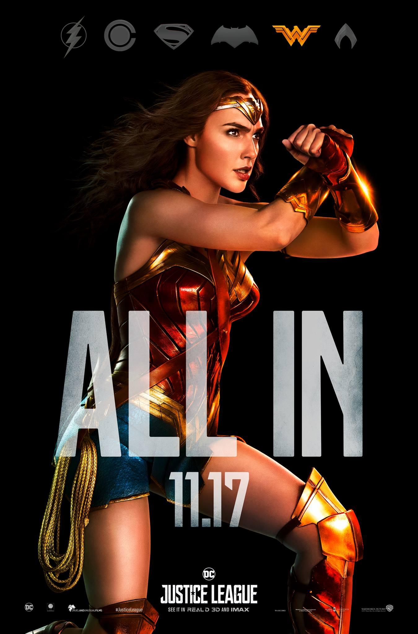 Justice League finaler Trailer & Charakterposter 1