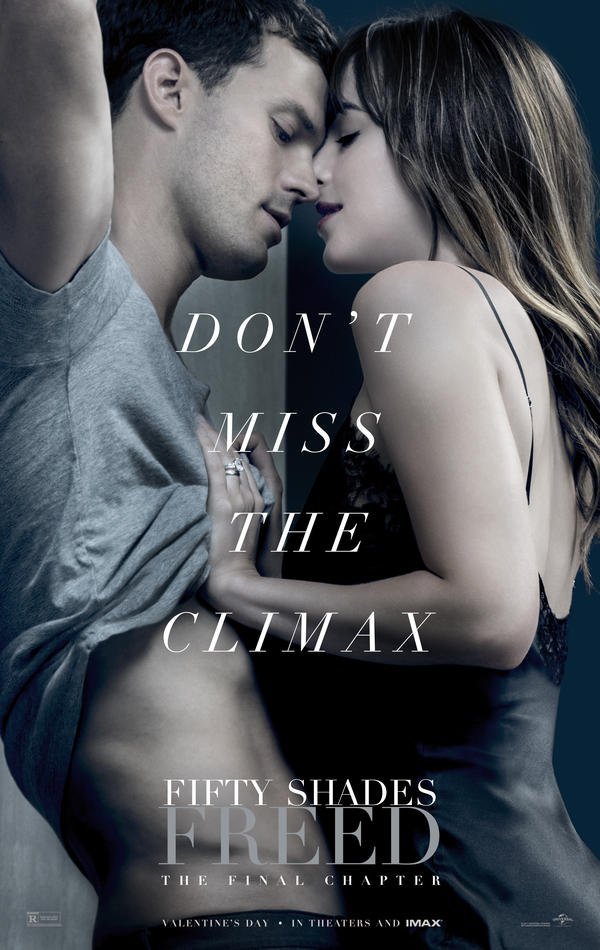 Fifty Shades of Grey Befreite Lust Trailer & Poster