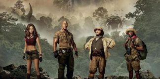 Jumanji Willkommen im Dschungel Charakterposter