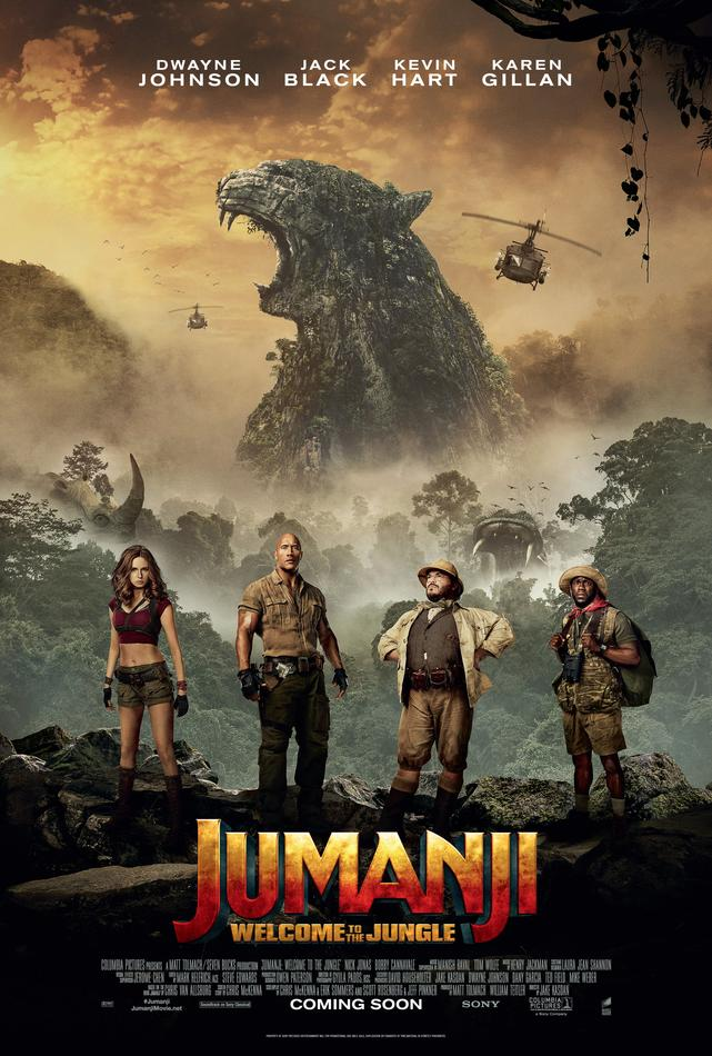Jumanji Willkommen im Dschungel Plakat