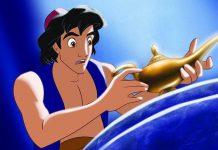 Aladdin Drehende