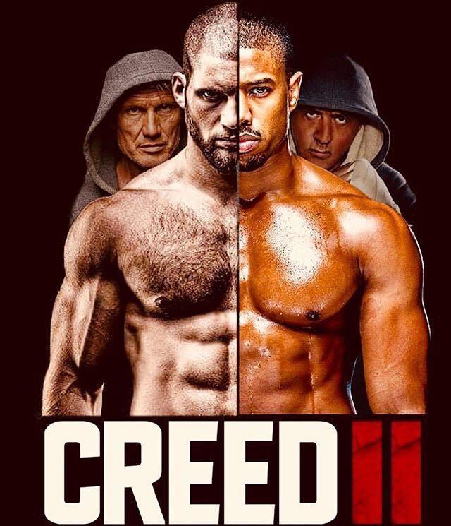 Creed 2 Drehbeginn Plakat