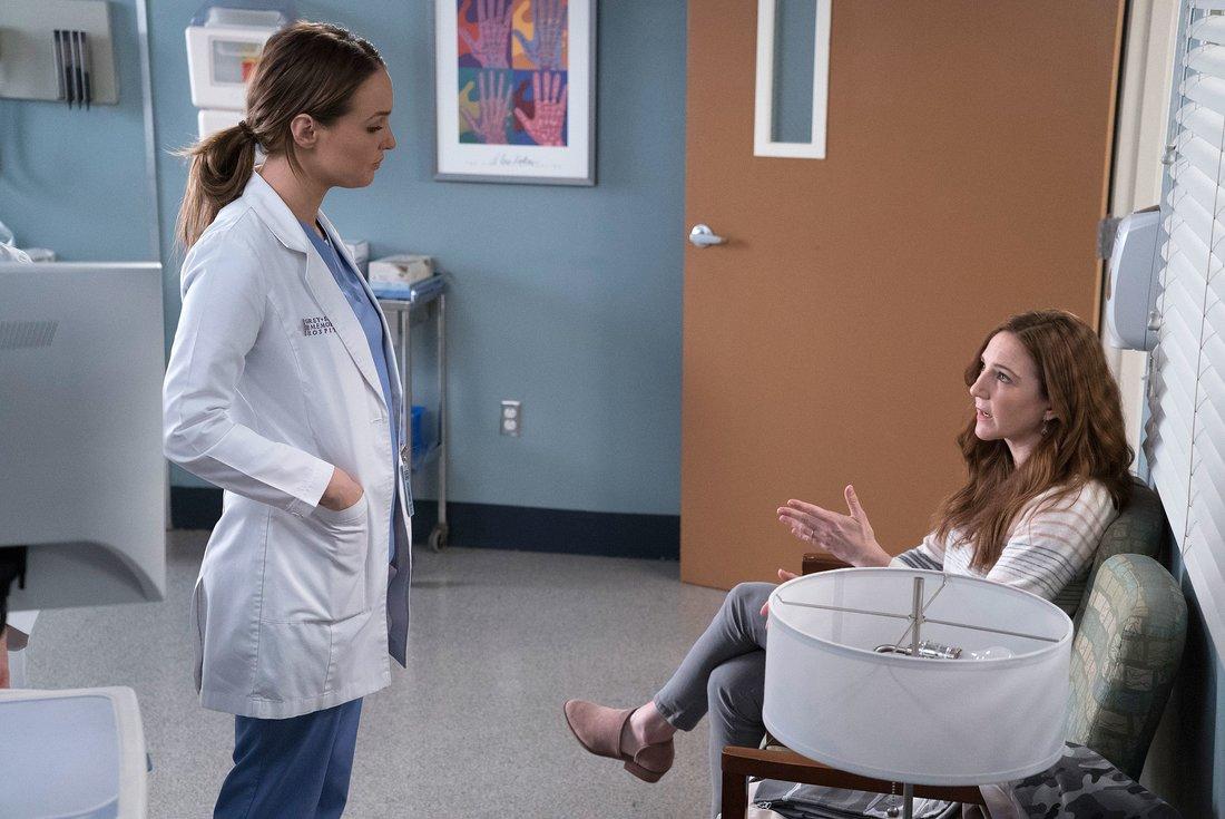 Greys Anatomy Staffel 14 Olivia Bild 1